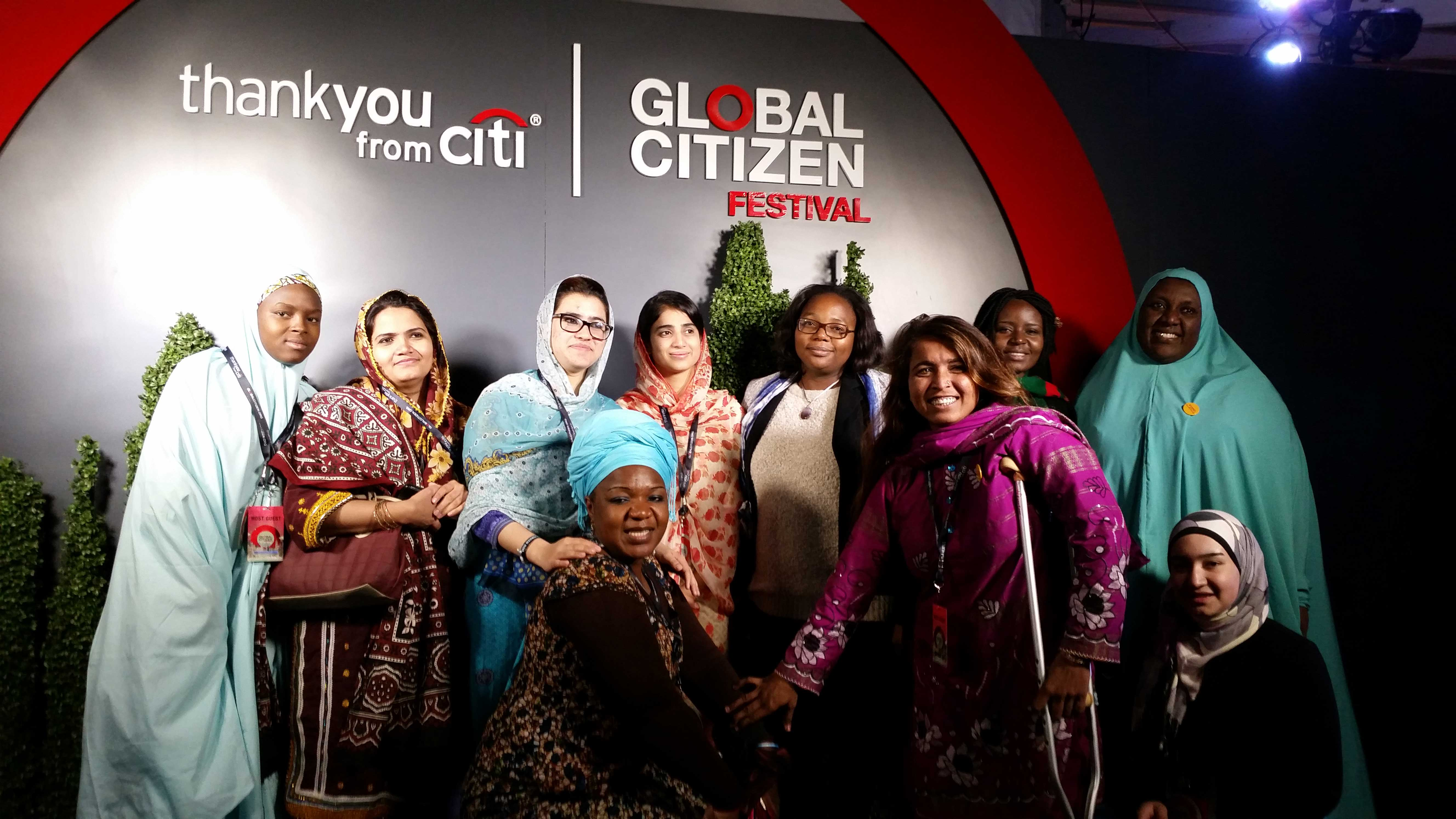 CAMA members join Malala to call for gender equity and quality education at the Global Citizen Festival