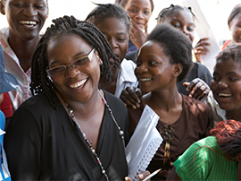 The returns of our long-term commitment to investing in communities are now evident in the CAMA network of educated young women.