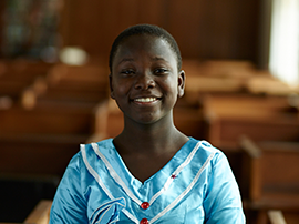 We are accountable first and foremost to our clients – vulnerable girls and young women.